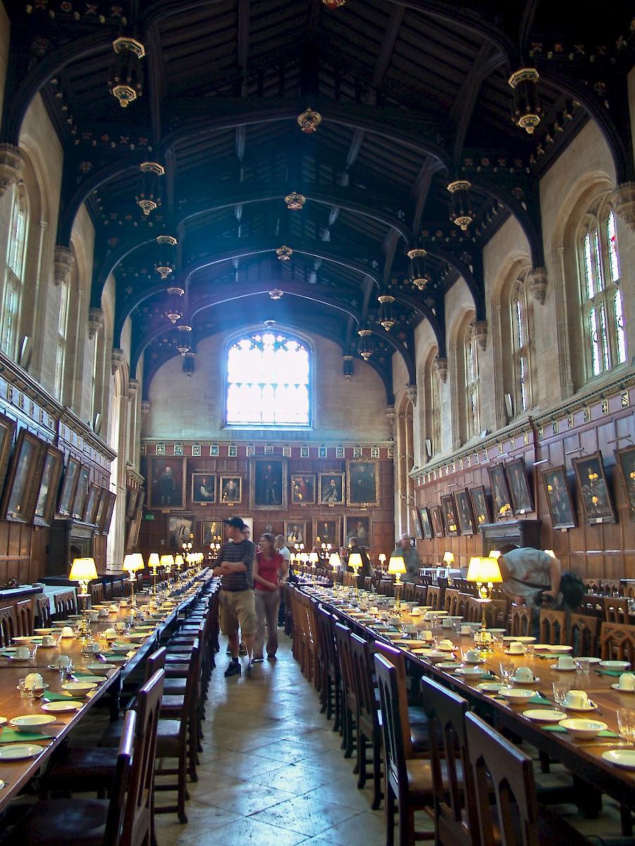 The Dining Hall Christ Church College Oxford Photo Reid Bramblett