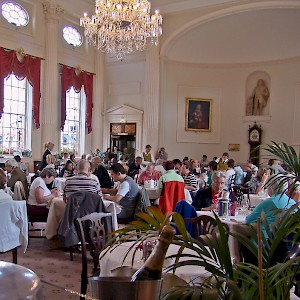 Afternoon tea at the Pump Room (Photo © Reid Bramblett)