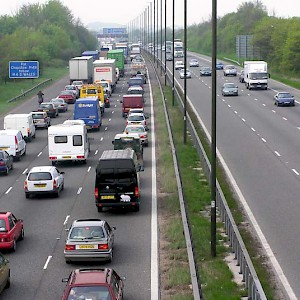 The M4 Motorway (Photo by aul Townsend)