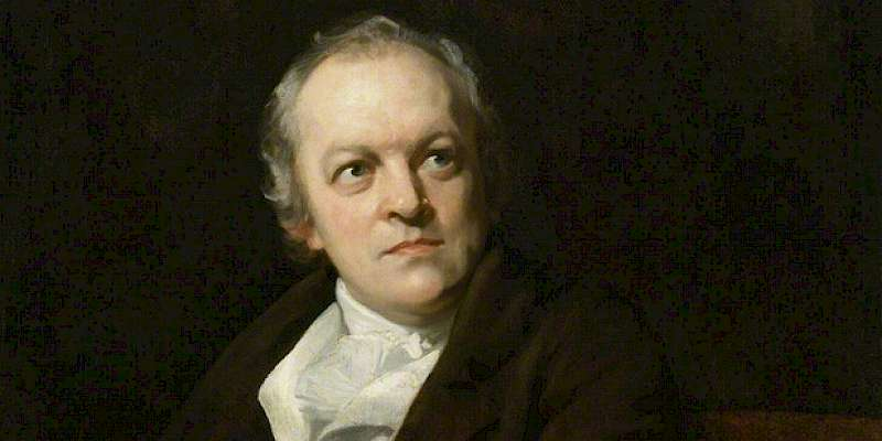 Portrait of William Blake (1807) by Thomas Phillips, in the National Portrait Gallery, London, William Blake, General (Photo courtesy of the National Portrait Gallery)