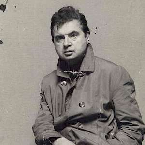 Francis Bacon in the early 1950s (Photo by John Deakin)